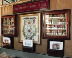 Boer War display