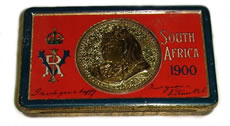 Boer War Chocolate Tin