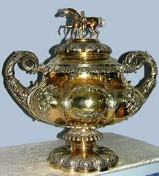 Gold plated sterling silver cup