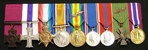 Herbert James medals
