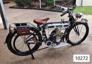 1914 Douglas motorbike
