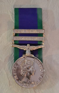 Larry Downes General Service Medal