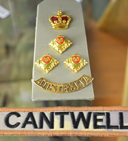 John Cantwell badges