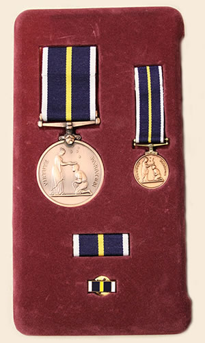 James Runham medals