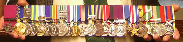 Keith Payne medals