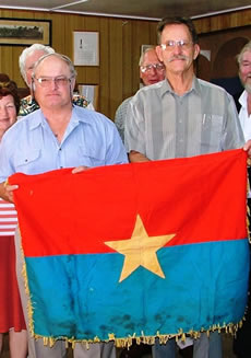 North Vietnamese flag