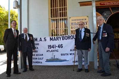 Presentation of the H.M.A.S. Maryborough Marching Banner