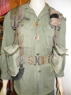 Tropical uniform, nicknamed Pixie Greens